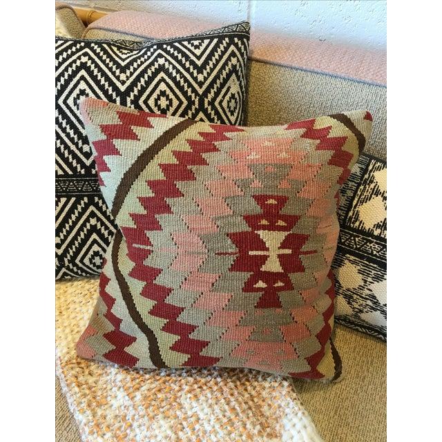 Image of Vintage Kilim Rug Pillow
