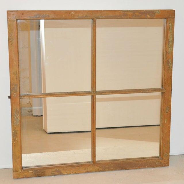 Image of Reclaimed Vintage Window Frame Mirror