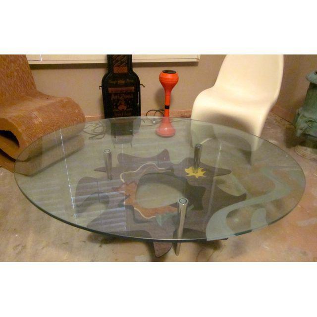 Roche bobois italian lacquer coffee table chairish - La roche bobois table ...
