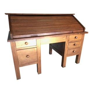 Ironwood Roll Top Desk