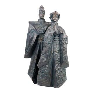 Austin Productions Asian Couple Sculpture