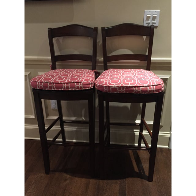 Image of Pottery Barn Kitchen Barstools- A Pair