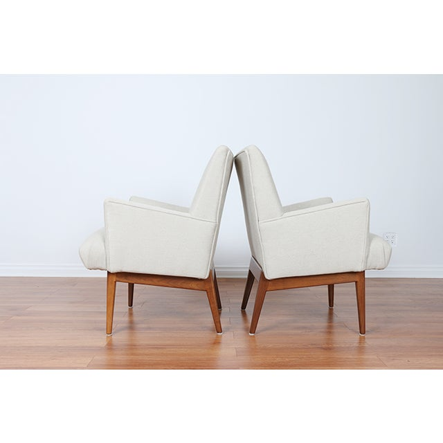 Jens Risom Lounge Chairs - Image 3 of 8
