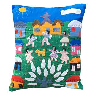 Handmade Colorful Cotton Pillow