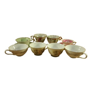 Japanese Tea Cups & Saucers- Set of 8