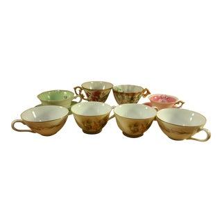 Japanese Tea Cups & Saucers- Set of 8