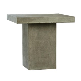 Outdoor Cement Resin Bar Table