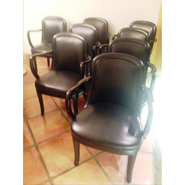 Image of Donghia Dining Chairs - Set of 8