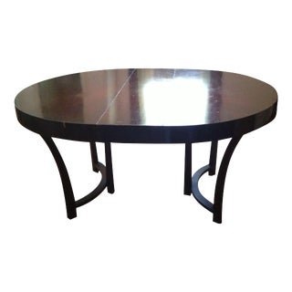 Vintage Robsjohn-Gibbings Round Dining Table
