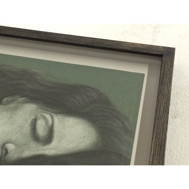 Sleeping Women Pastel Drawing Signed W. Gray - Image 6 of 6