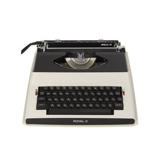 1970s Royal Apollo 10 Electric Typewriter