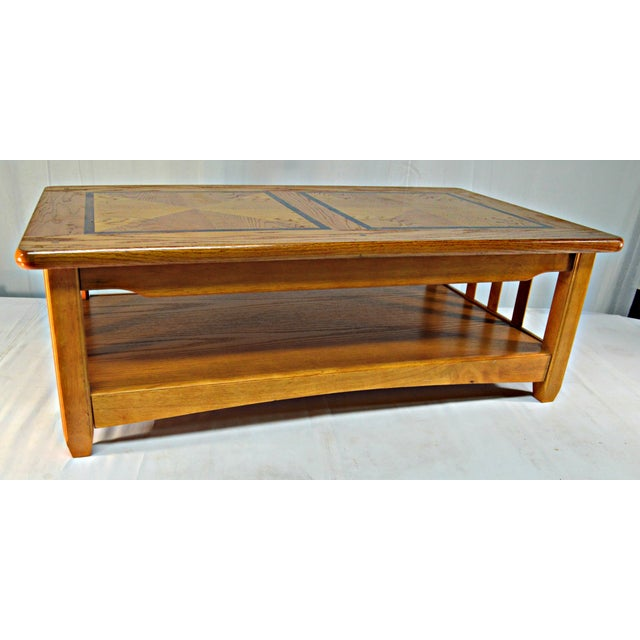 Solid Wood Country Style Coffee Table Chairish