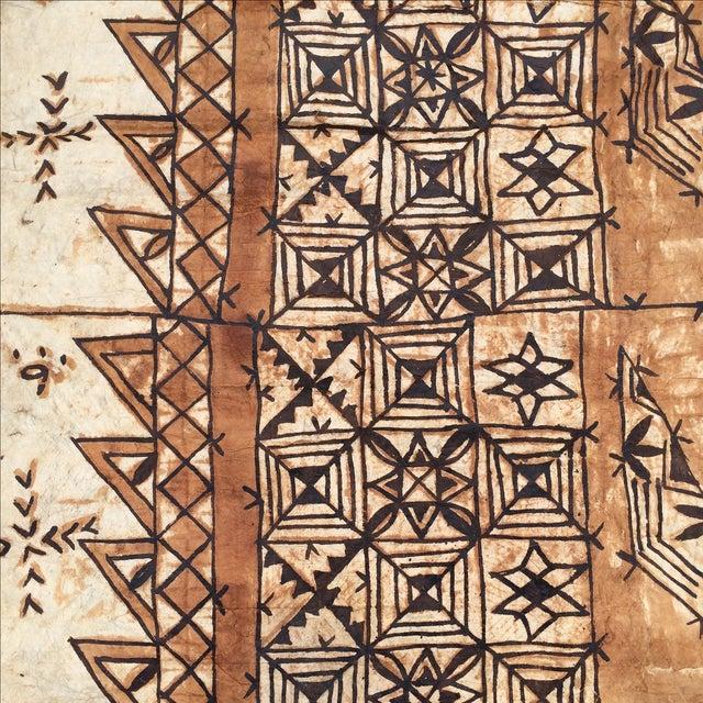 Tapa Cloth Wall Hanging - Image 8 of 10