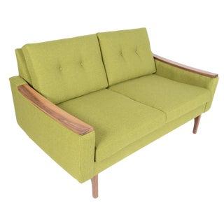 """Mid-Century Style """"Piedmont"""" Sofa in Avocado"""