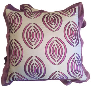 Julian Chichester Throw Pillows - a Pair, Covers Only