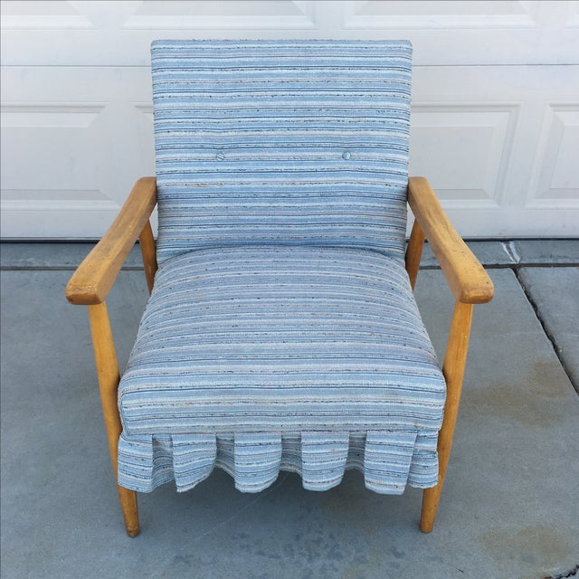Mid Century Modern Danish Style Lounge Chair - Image 5 of 6