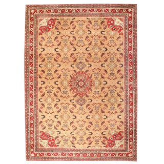 Antique 19th Century Oversize Indian Agra Carpet
