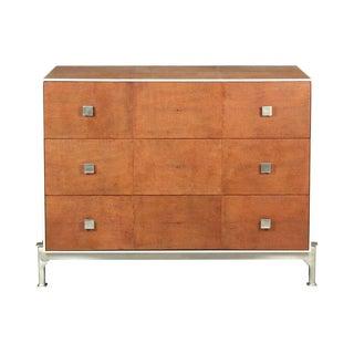 Sarreid LTD Tan Shagreen Dresser