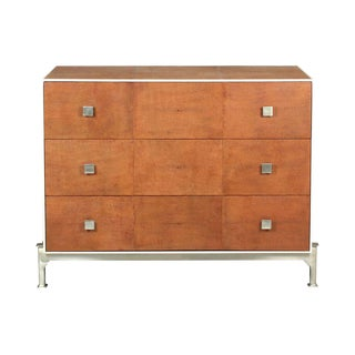Sarreid LTD Tan Shagreen Dresser