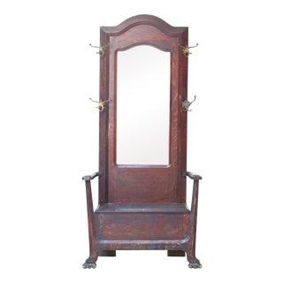 Vintage Oak Hallstand