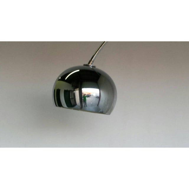 Mid-Century Italian Arc Floor Lamp - Image 2 of 3