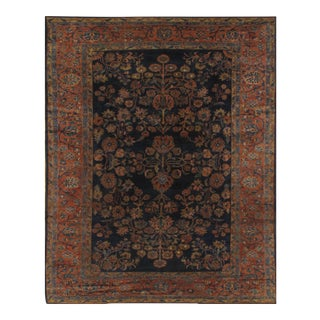 "Pasargad Ny Antique Persian Lilian Saruk Hand-Knotted Rug - 7'7"" X 9'3"""