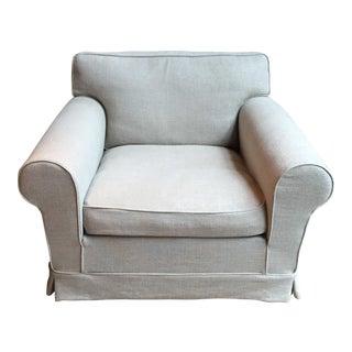 Beige Upholstered DePadova Armchair