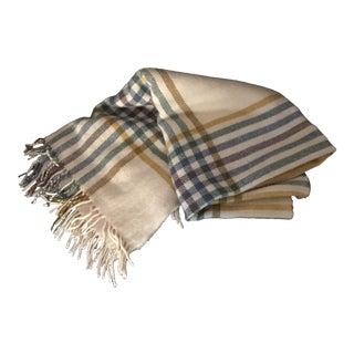 Vintage Alafoss Comfort Wool Blanket