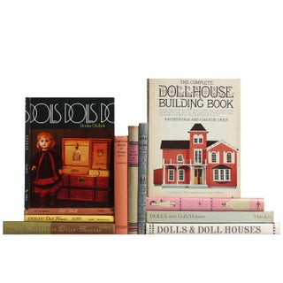 Dolls & Dollhouses Books - Set of 11