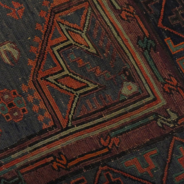 Antique Soumak Kilim - 6' x 9' - Image 3 of 4
