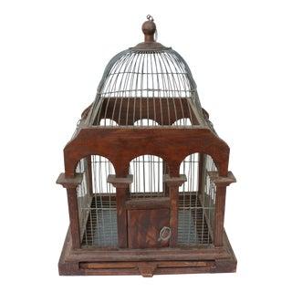 Wood & Wire Birdcage