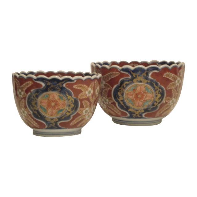 Image of Vintage Imari Bowls - A Pair