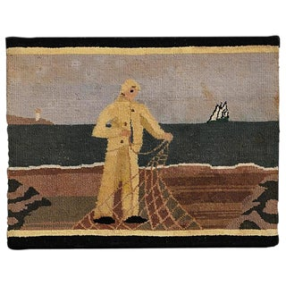 Grenfell Fisherman Hooked Mat