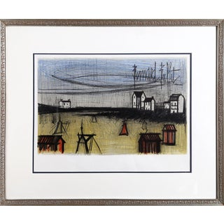 Bernard Buffet, Small Beaches, Lithograph