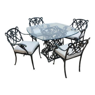 Brown Jordan Day Lily Dining Set