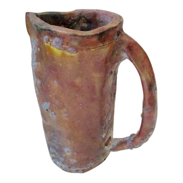 Brutalist Thick Glazed Pitcher Vase - Image 1 of 10