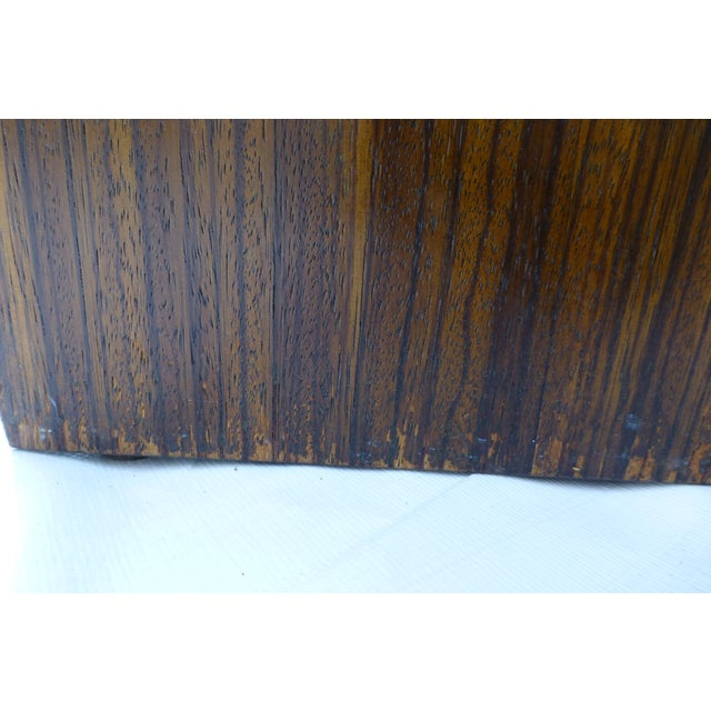 Danish Modern Cubist Stacked Rosewood End Tables- A Pair - Image 7 of 11