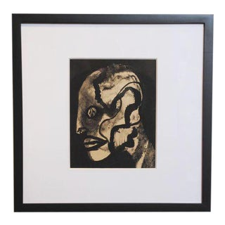 Vintage Expressionist Drawing