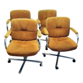 Vintage Chromcraft Arm Chairs - Set of 4