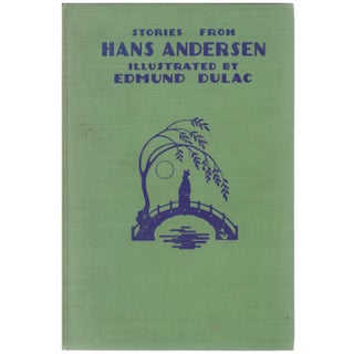 """Vintage """"Stories From Hans Andersen"""" Hardcover Book Illustrated by Edmund Dulac"""