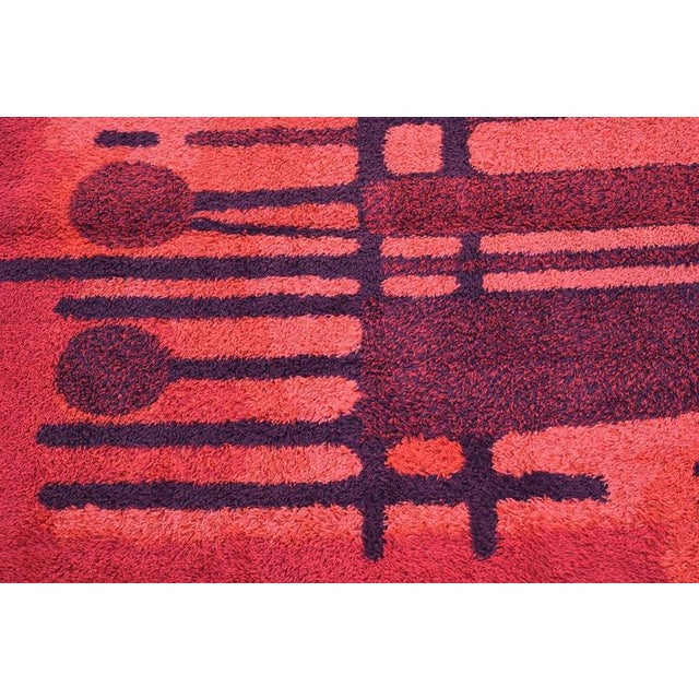 Large Bright Colorful Rug by Ege Rya - Image 3 of 5