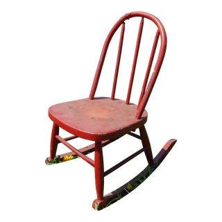 Primitive Child's Rocking Chair