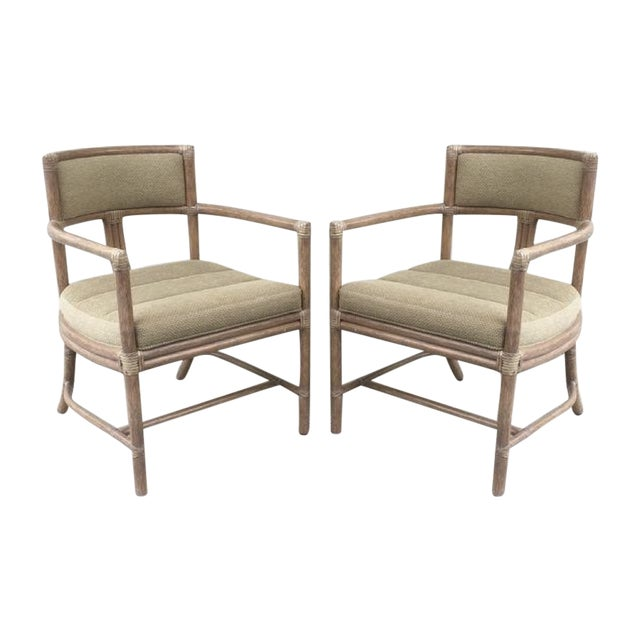 McGuire Manhattan Chairs - Set of 4 - Image 1 of 10
