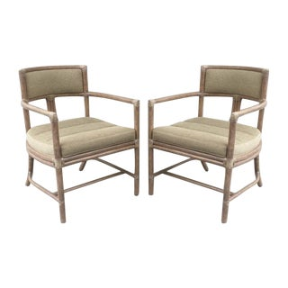 McGuire Manhattan Chairs - Set of 4