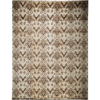 """Gabbeh, Hand Knotted Area Rug - 9' 0"""" x 11' 10"""""""