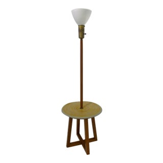 Lamp Table with Ceramic Shelf by Design Technics