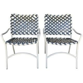 Brown Jordan Outdoor Patio Chairs - Pair