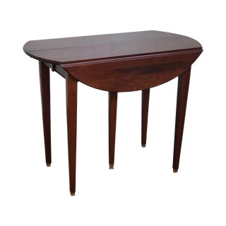 Solid Cherry Drop Leaf Extension Dining Table w/ 3 Leaves