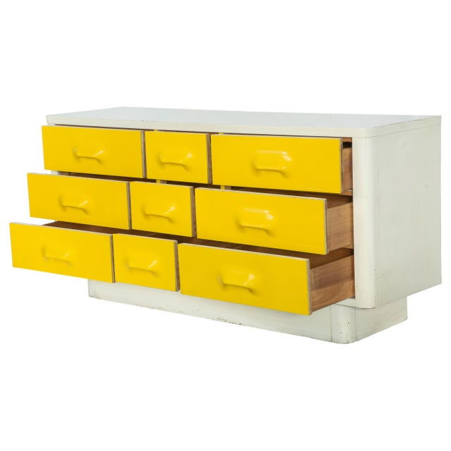 9-Drawer Raymond Loewy-Style Dresser - Image 3 of 6