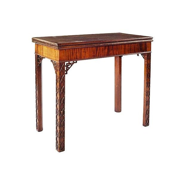 Image of Antique 18th C. Chinese Chippendale Console